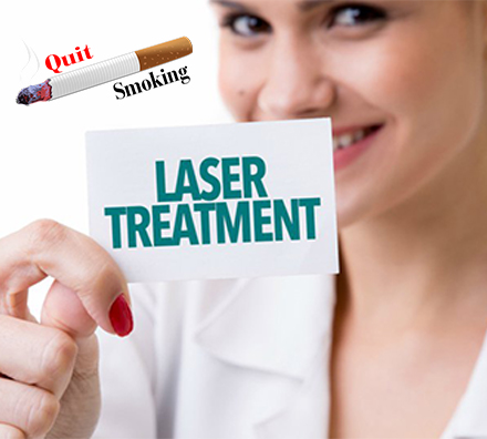 Stop Smoking With Laser Treatment