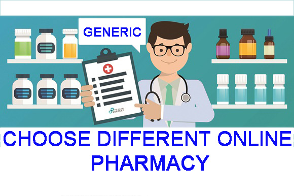 choose different online pharmacies which sells generic viagra pills