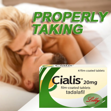 properly taking cialis