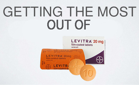 getting most out of levitra